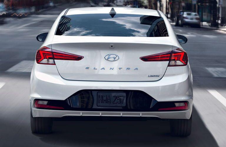 2020 Hyundai Elantra Exterior Rear Fascia