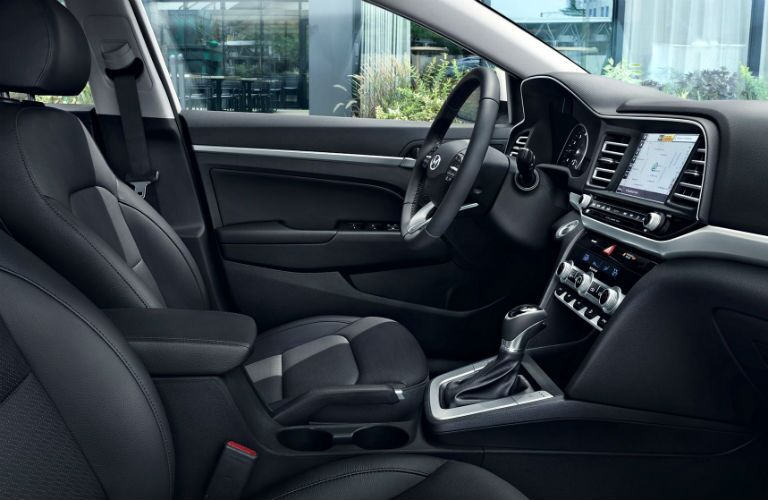 2020 Hyundai Elantra Interior Cabin Front Seating & Dashboard