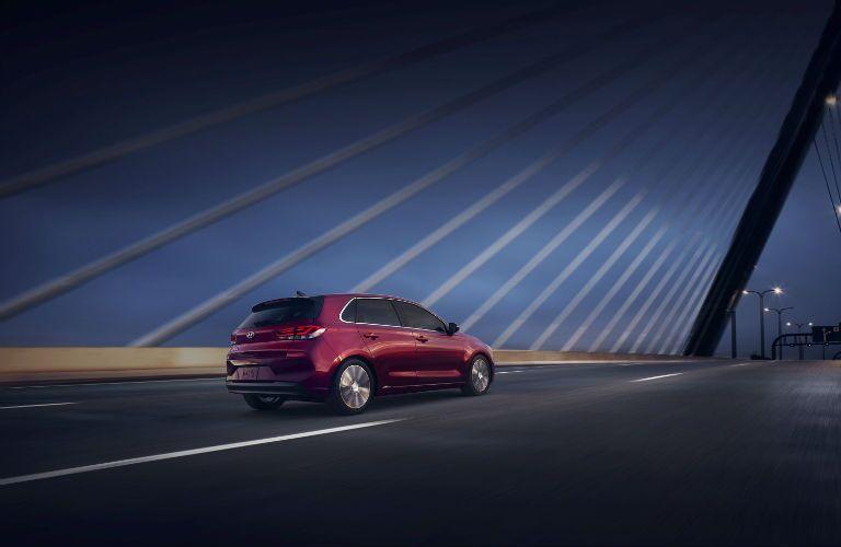 2020 Hyundai Elantra GT Exterior Passenger Side Rear Profile