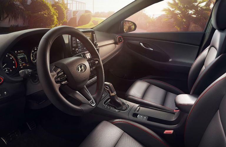 2020 Hyundai Elantra GT Interior Cabin Dashboard & Front Seating