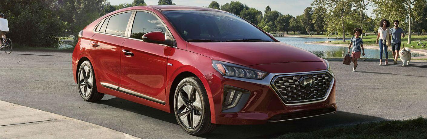 2020 Hyundai Ioniq Exterior Passenger Side Front Profile