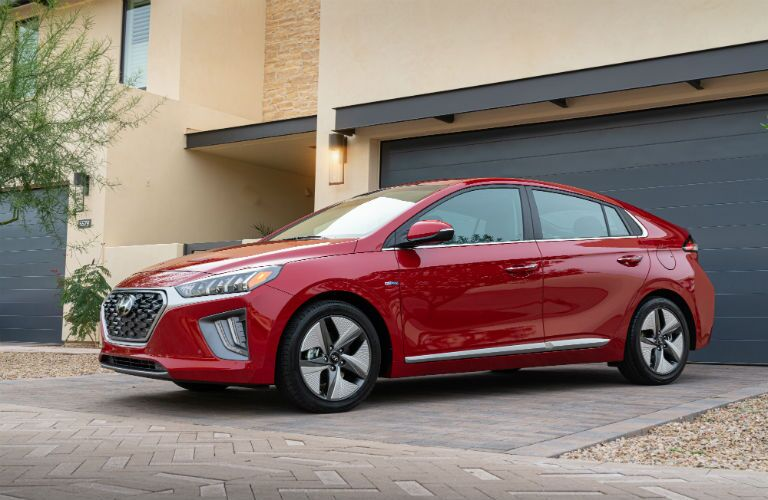 2020 Hyundai Ioniq Exterior Driver Side Front Profile