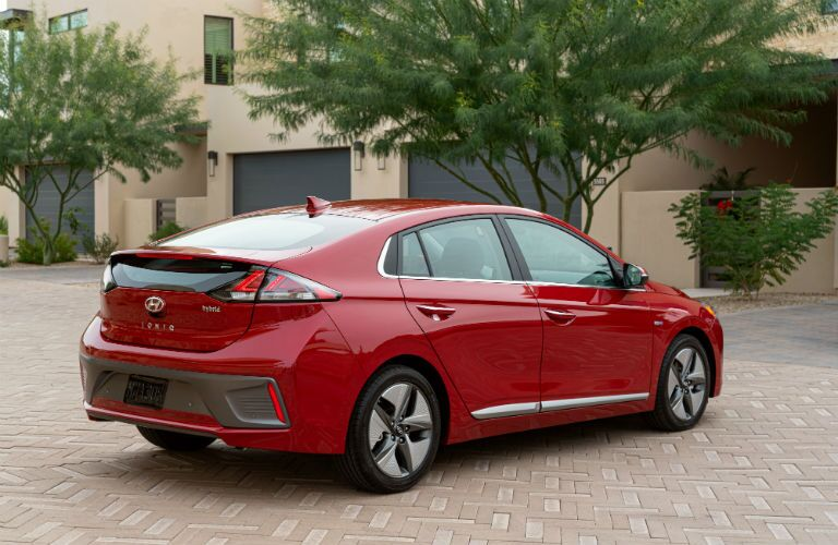 2020 Hyundai Ioniq Exterior Passenger Side Rear Profile