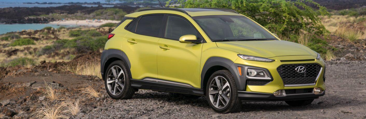 2020 Hyundai Kona Exterior Passenger Side Front Profile
