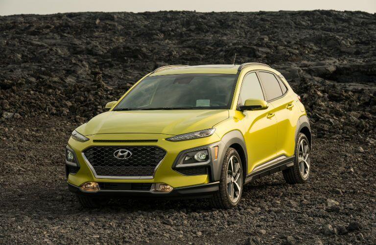 2020 Hyundai Kona Exterior Driver Side Front Profile