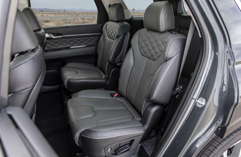 2020 Hyundai Palisade Interior Cabin Rear Seating