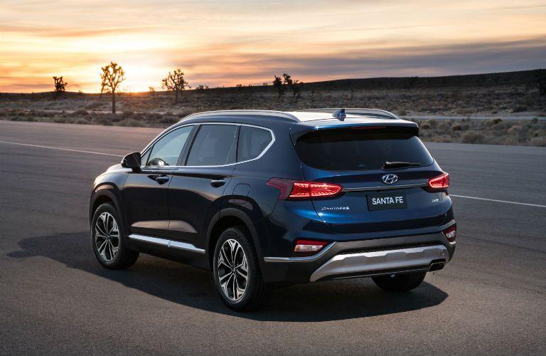 2020 Hyundai Santa Fe Exterior Driver Side Rear Angle