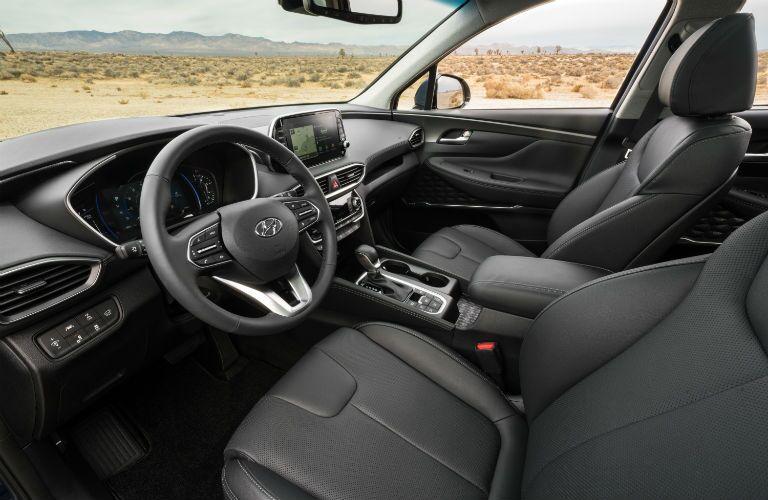 2020 Hyundai Santa Fe Interior Cabin Front Seating & Dashboard