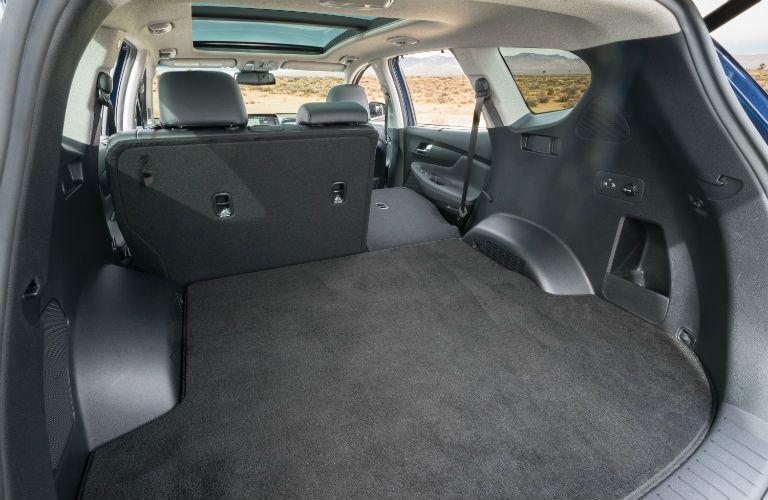 2020 Hyundai Santa Fe Interior Cabin Rear Cargo Area Split-Folded Seats