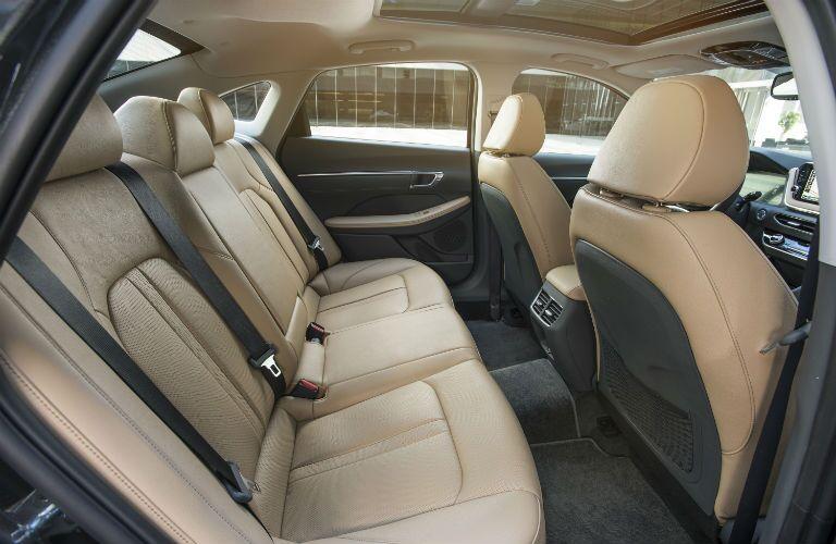2020 Hyundai Sonata Interior Cabin Rear Seating