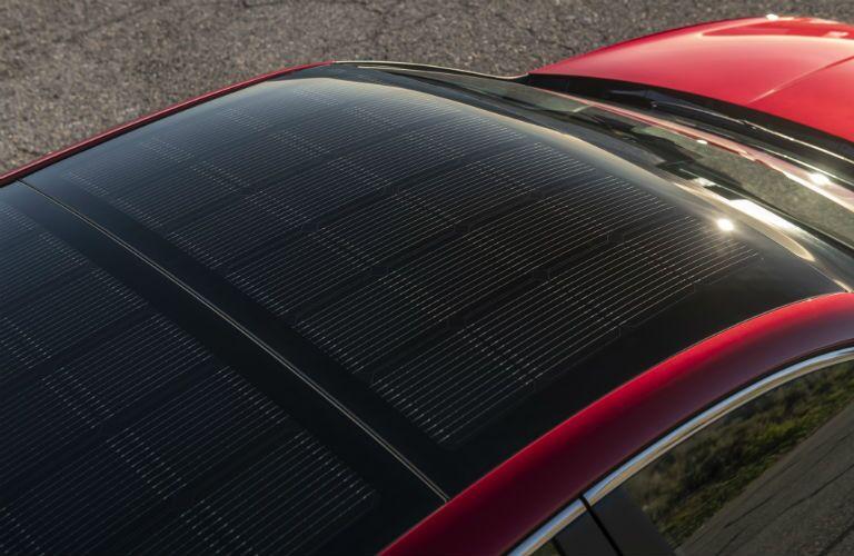 2020 Hyundai Sonata Hybrid Exterior Solar Panel Roof System