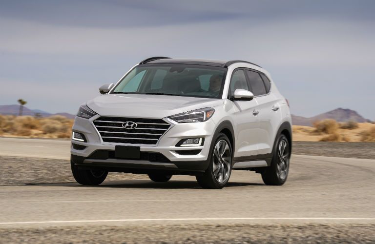2020 Hyundai Tucson Exterior Driver Side Front Angle