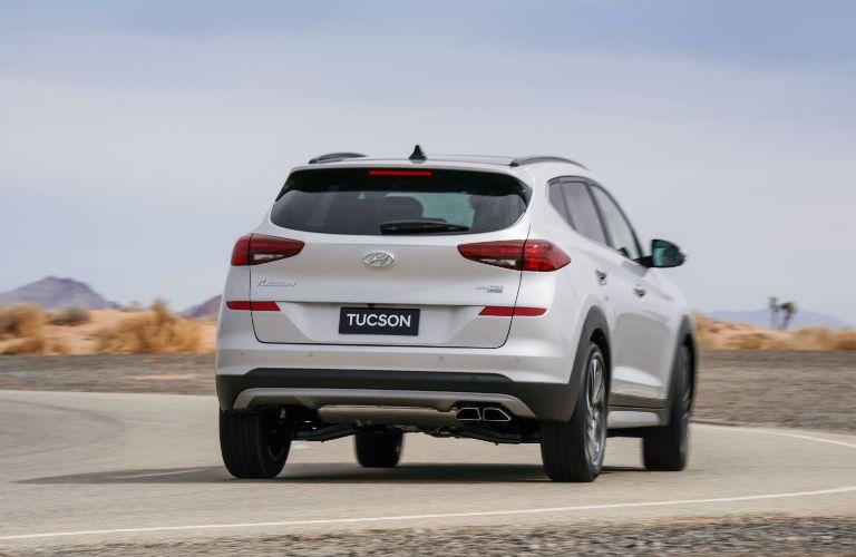 2020 Hyundai Tucson Exterior Passenger Side Rear Angle