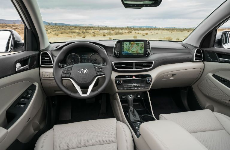 2020 Hyundai Tucson Interior Cabin Dashboard & Front Seating