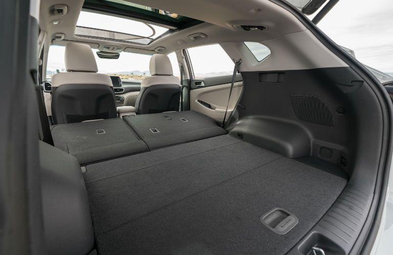 2020 Hyundai Tucson Interior Cabin Cargo Area Seats Folded