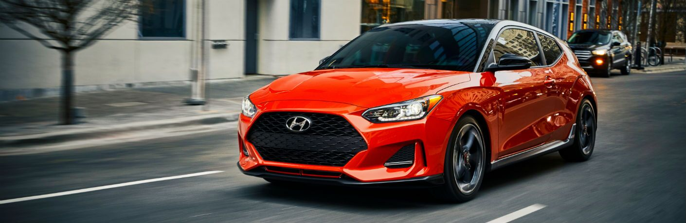 2020 Hyundai Veloster Exterior Driver Side Front Profile