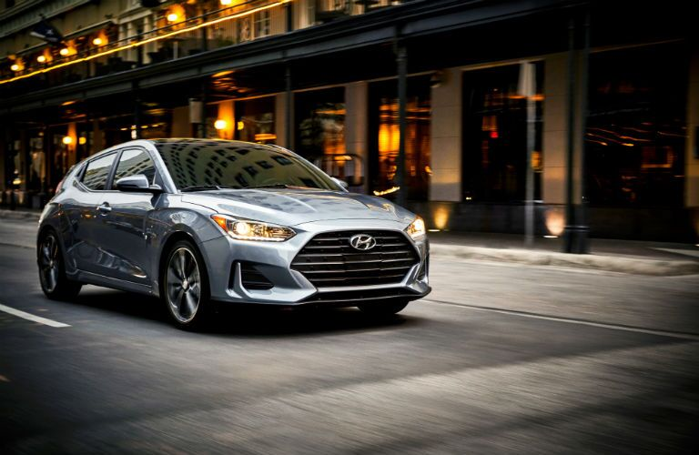 2020 Hyundai Veloster Exterior Passenger Side Front Profile