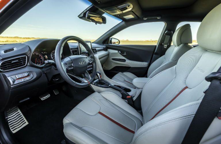 2020 Hyundai Veloster Interior Cabin Dashboard & Front Seating