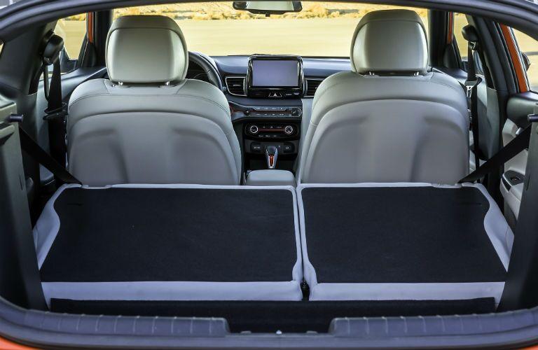 2020 Hyundai Veloster Interior Cabin Rear Cargo Area Seats Folded Flat