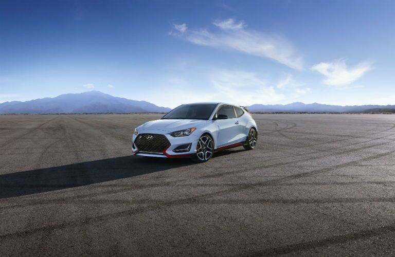 2020 Hyundai Veloster N Exterior Driver Side Front Profile