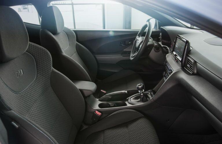 2020 Hyundai Veloster N Interior Cabin Front Seating & Dashboard