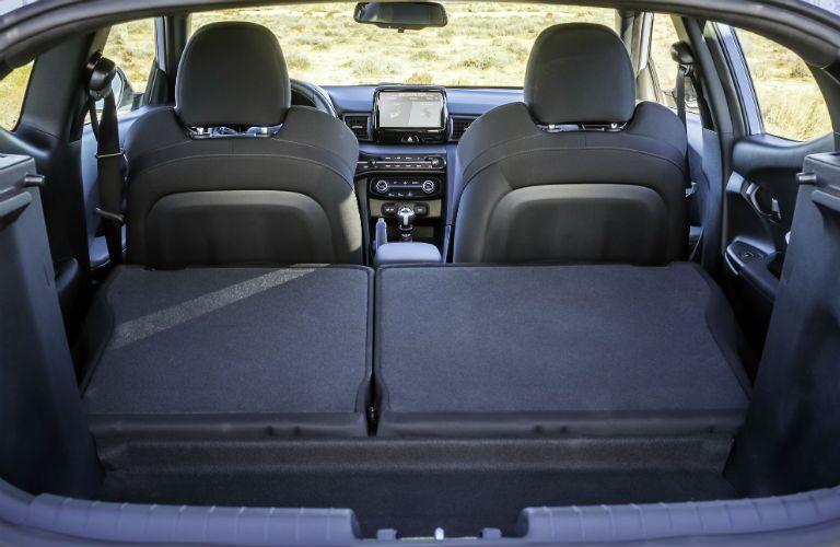 2020 Hyundai Veloster N Interior Cabin Rear Cargo Area Seats Folded Flat