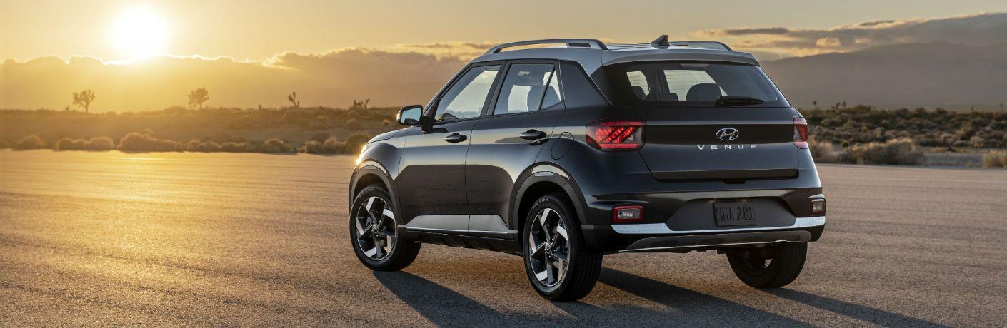 2020 Hyundai Venue Exterior Driver Side Rear Angle