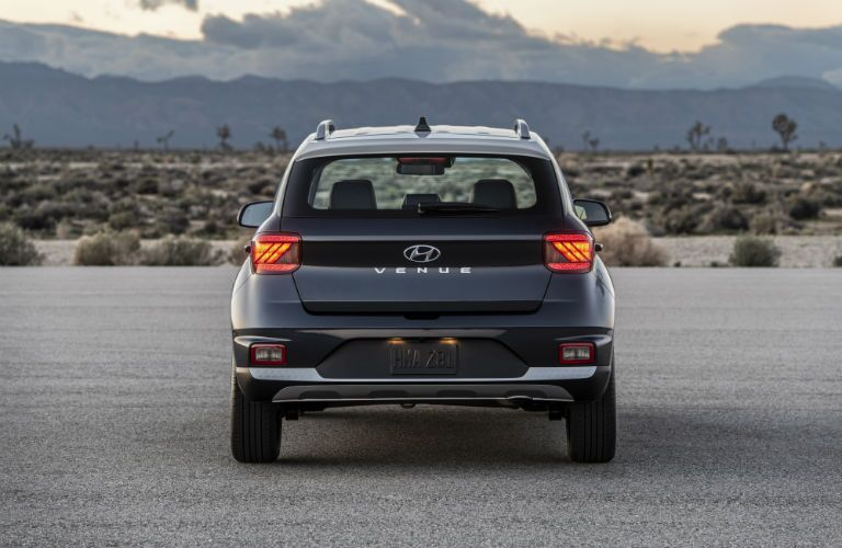 2020 Hyundai Venue Exterior Rear Fascia with Two-Tone Exterior