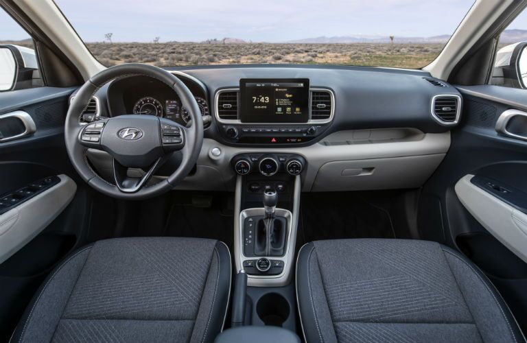 2020 Hyundai Venue Interior Cabin Dashboard
