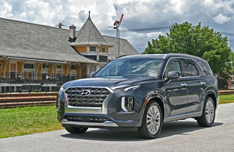 2020 Hyundai Palisade Exterior Driver Side Front Profile