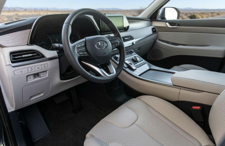 2020 Hyundai Palisade Interior Cabin Dashboard & Front Seating