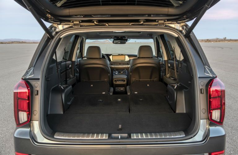 2020 Hyundai Palisade Interior Cabin Cargo Area with Seats Folded Flat