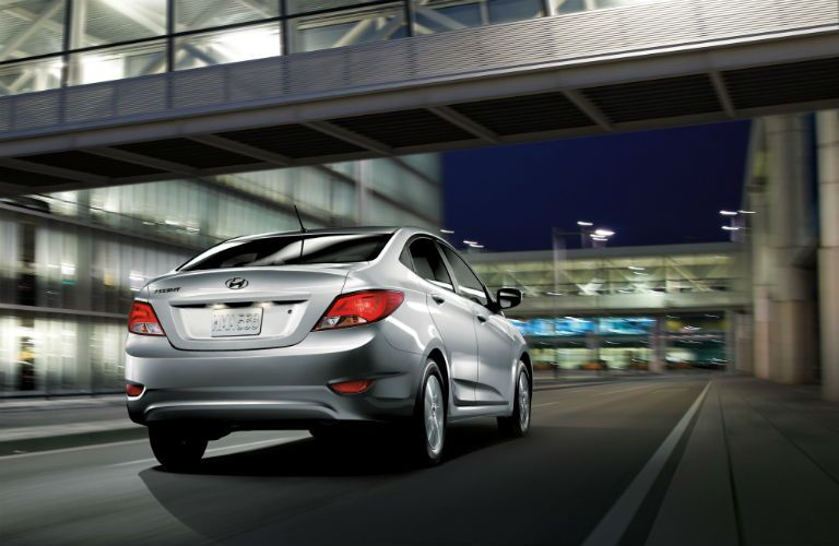 2017 Hyundai Accent comes in a popular sedan body style