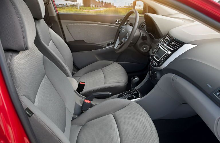 Passenger space is one of the strongest traits of the 2017 Hyundai Accent