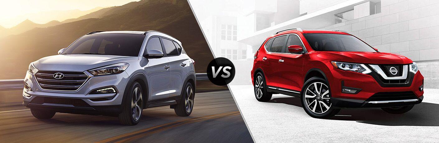 2017 Hyundai Tucson vs. 2017 Nissan Rogue