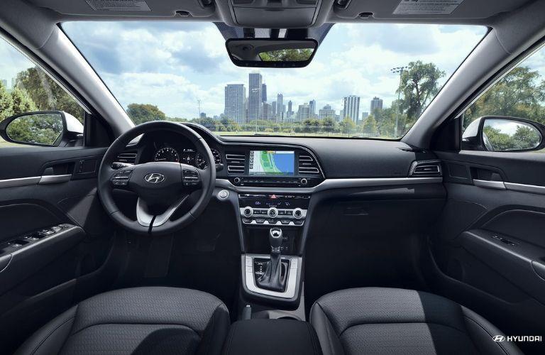 Interior 2020 Hyundai Elantra