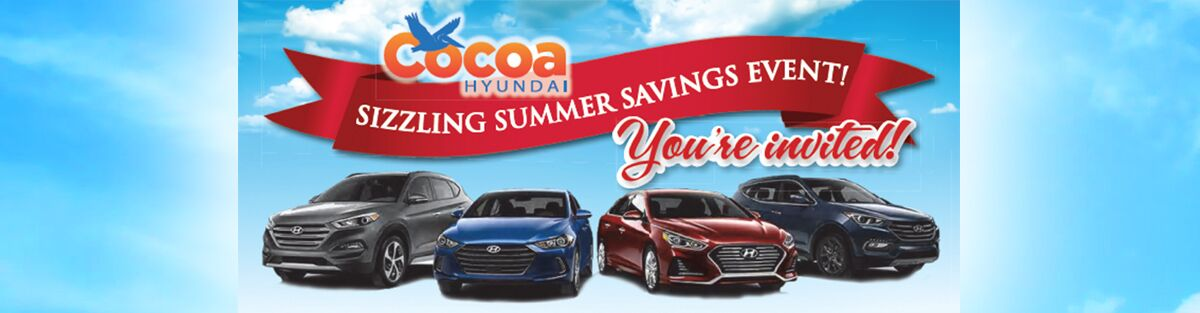 Save Money on your New Car at Cocoa Hyundai