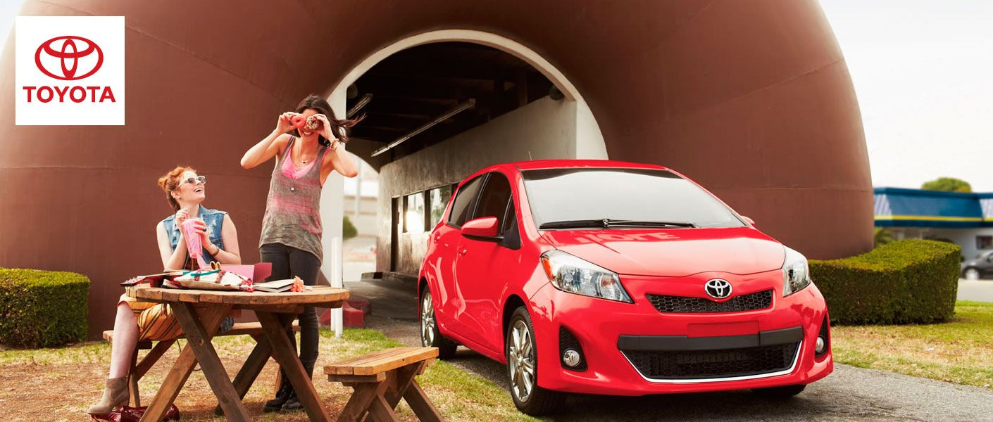 2014 Toyota Yaris Featured Image