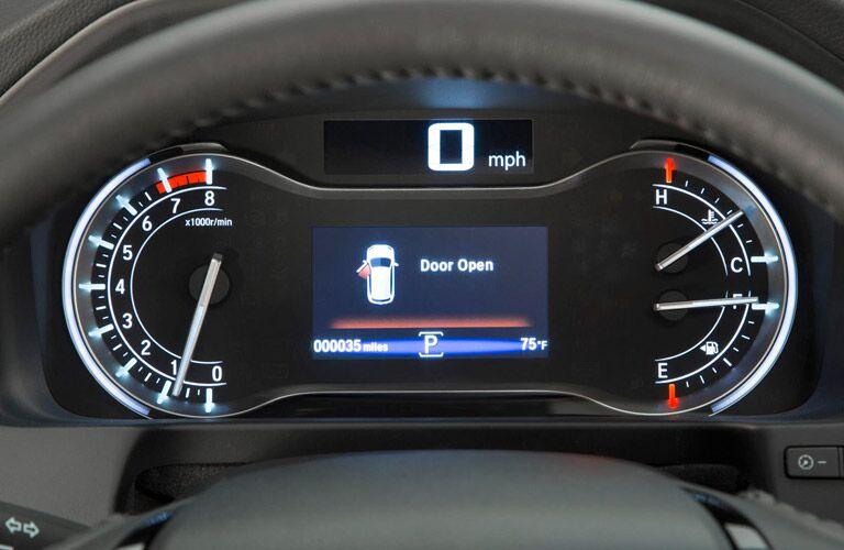 2016 Honda Pilot information display screen