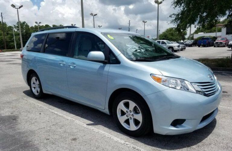 2016 Toyota Sienna at OkCarz