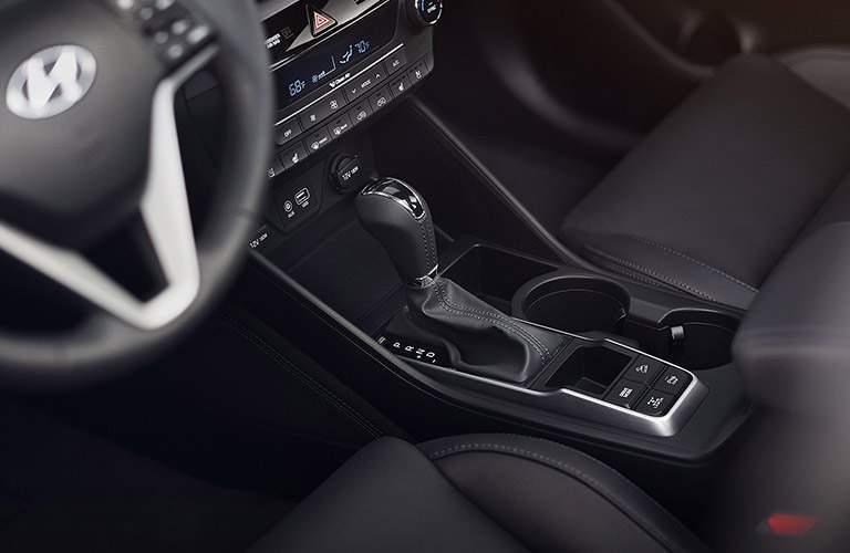 2017 Hyundai Tucson gear shift