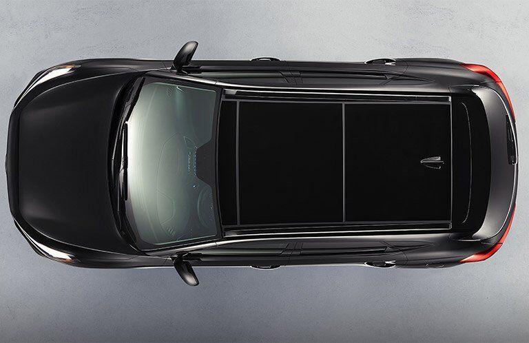 2017 Hyundai Tucson overhead view
