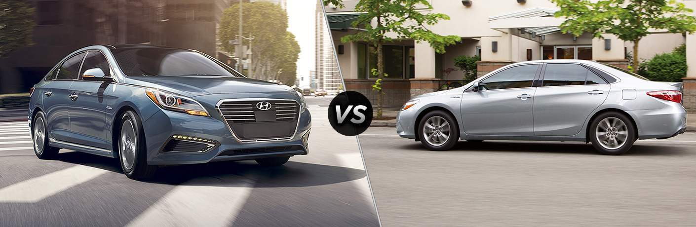 Hyundai sonata hybrid vs toyota camry hybrid