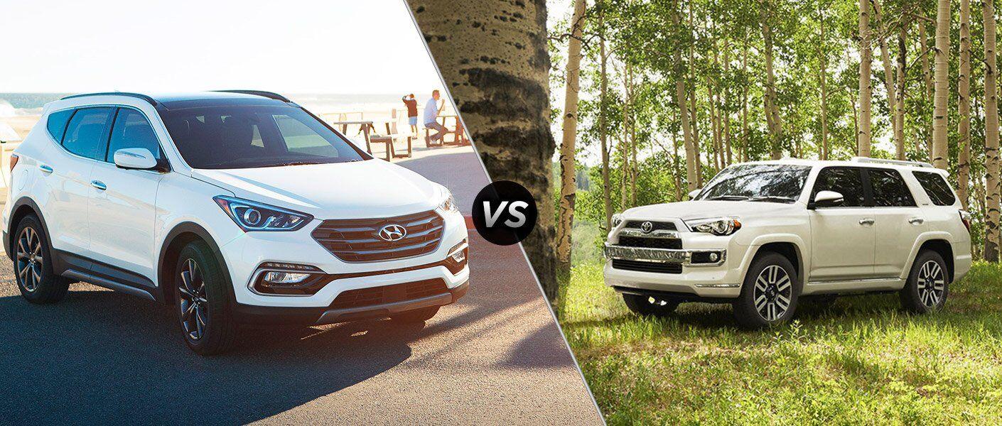 2017 Hyundai Santa Fe Sport vs 2017 Toyota 4Runner