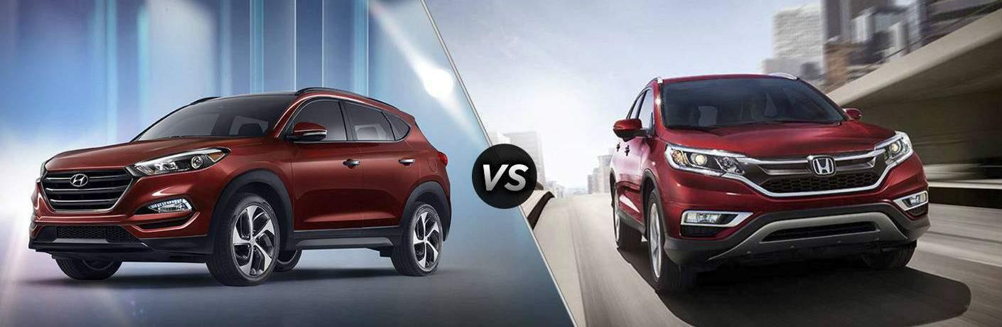 2017 Hyundai Tucson vs 2017 Honda CR-V