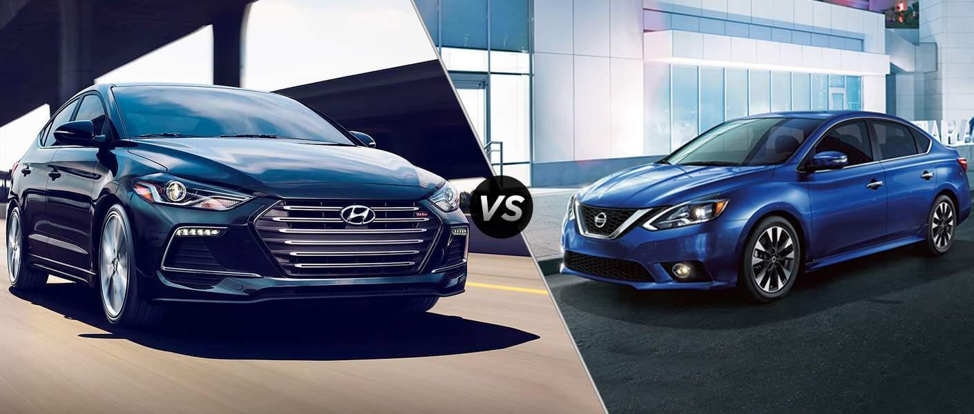 2017 Hyundai Elantra vs 2017 Nissan Sentra