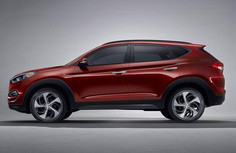2017 hyundai tucson in red