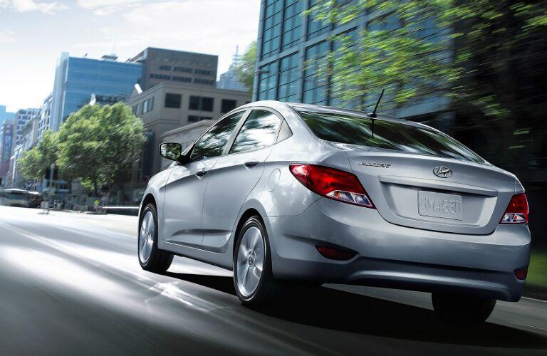 2017 Hyundai Accent in sedan form