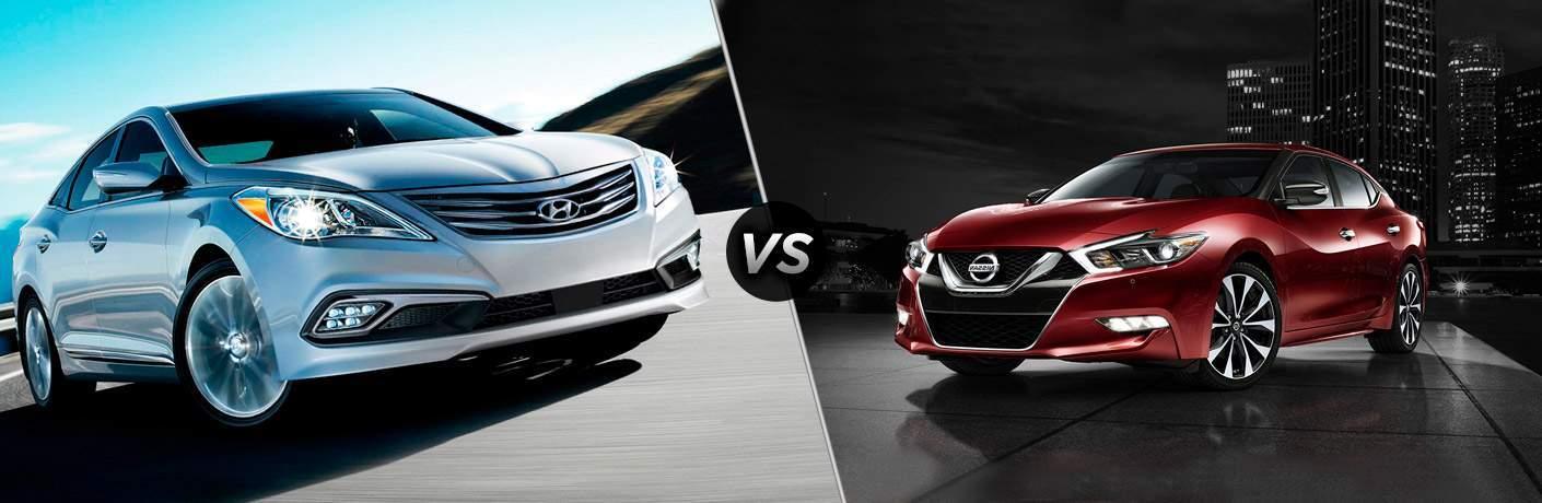 2017 Hyundai Azera vs 2017 Nissan Maxima