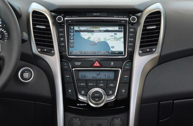 2017 Hyundai Elantra GT Melbourne FL dashboard features and layout